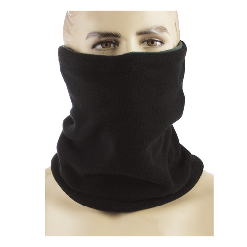Black Fleece Neck Gaiter
