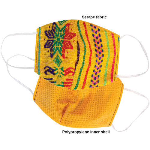 Yellow Serape Fabric