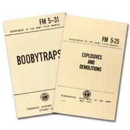 2-Book Set - Boobytraps/Explosives