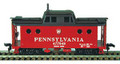 Bowser N-5C Caboose KIT - PRR Shadow Keystone RN:477970 (HO)