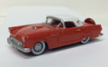 Oxford Diecast #87TH56004 Ford '56 Thunderbird - Fiesta Red/White (HO)