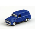 Athearn #26473 Ford 1955 F-100 Panel Truck - Blue (HO)