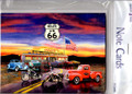 BTN35976 Route 66 Blank Note Cards - 8 pk