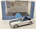 Oxford Diecast #87MU65003 Ford Mustang '65 Convertible - Blue/White (HO)
