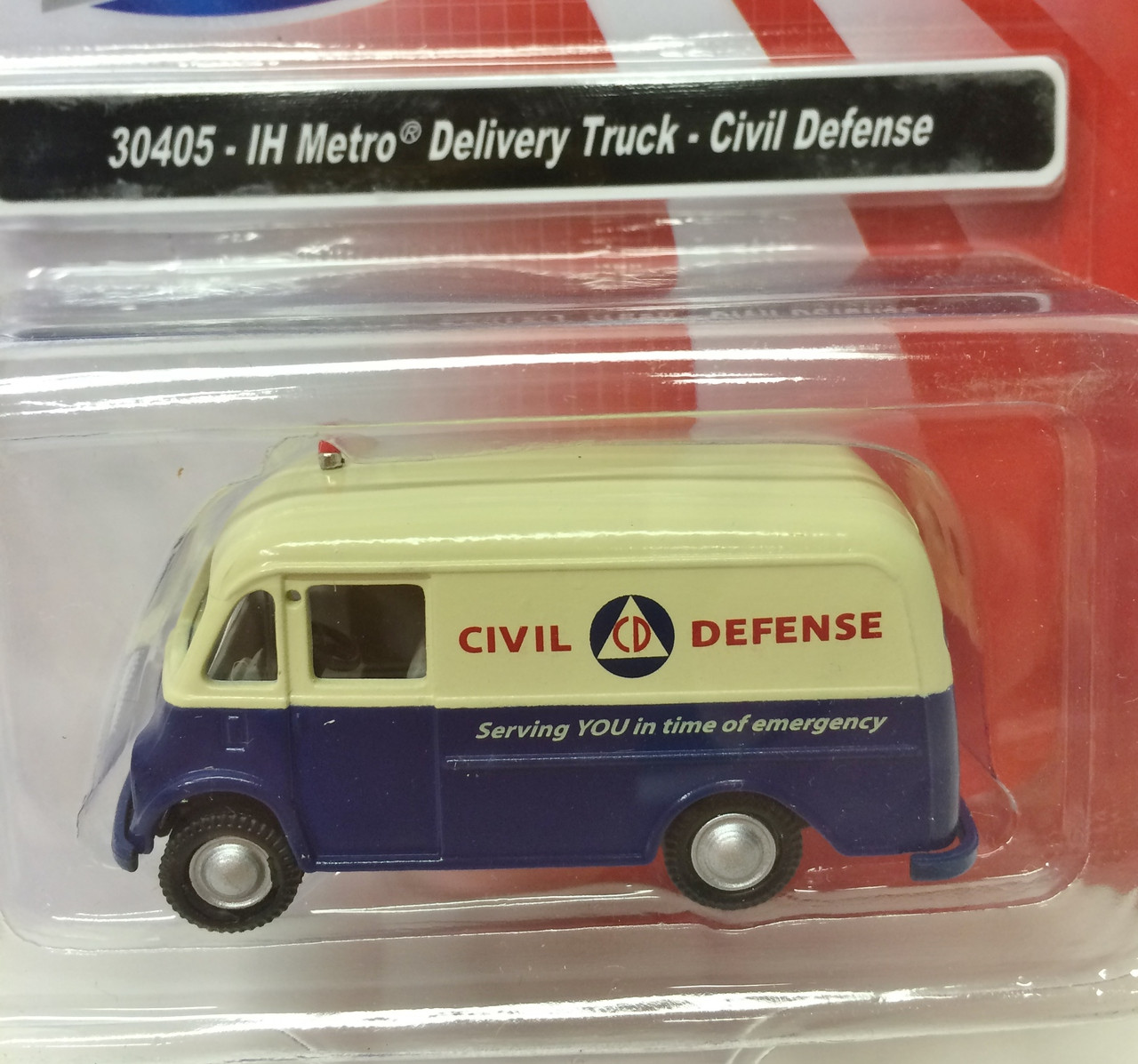 Classic Metal Works International Harvester Metro Delivery Civil Defense #30405