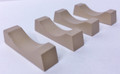 JWD #20105 Pipe Cradles - Tan 4-pk (HO)