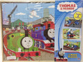 Cardinal #83931 Thomas & Friends 3 Wood Puzzles in Wooden Storage Box