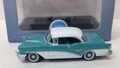 Oxford Diecast #87BC55001 Buick 1955 Century - Turquoise/White (HO)