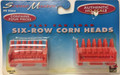 Scene Master  #1661 Corn Heads Flat Car Load (4pc) (HO)