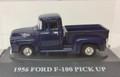 American Classics #8010 - 1956 Ford Pick Up - Blue (HO)