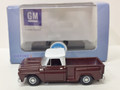 Oxford Diecast #87CP65003 Chevy '65 Stepside Pickup - Maroon (HO)