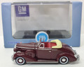Oxford Diecast #87BS36003 Buick '36 Convertible Coupe - Maroon (HO)