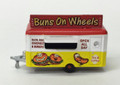 Oxford Diecast #NTRAIL006 Concession Trailer - Buns on Wheels (N)