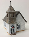 Assembled HO-Scale Country Church - Christmas - Lightly Used