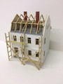 Auhagen #12270 Two Story House under Construction (HO)