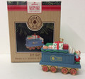 Hallmark Ornament #XPR9731 Claus & Co. R.R. Gift Car (1991)