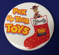 "Burger King/Disney Toy Story 3-1/2"" Christmas Pin - Woody"