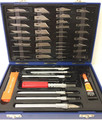 50 Piece Hobby Knife Set w/ Hard Plastic Case