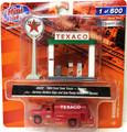 Classic Metal Works #40002 - '60 Ford Tank Truck & Gas Pumps - Texaco (HO)