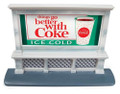 Classic Metal Works #20237 Billboard - 60's Coca-Cola (HO)