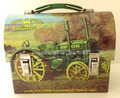 Miniature Lunch Pail - John Deere Antique Tractor - Preowned