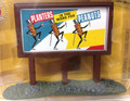 Classic Metal Works #20242 Country Billboard - Planter's Peanuts (HO)