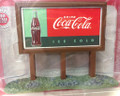 Classic Metal Works #20240 Country Billboard - '60's Coca-Cola (HO)