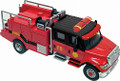SceneMaster #11920 International 7600 2-Axle Brush Fire Truck (HO)
