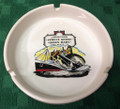 Vintage Queen Mary Spruce Goose Ceramic Ashtray
