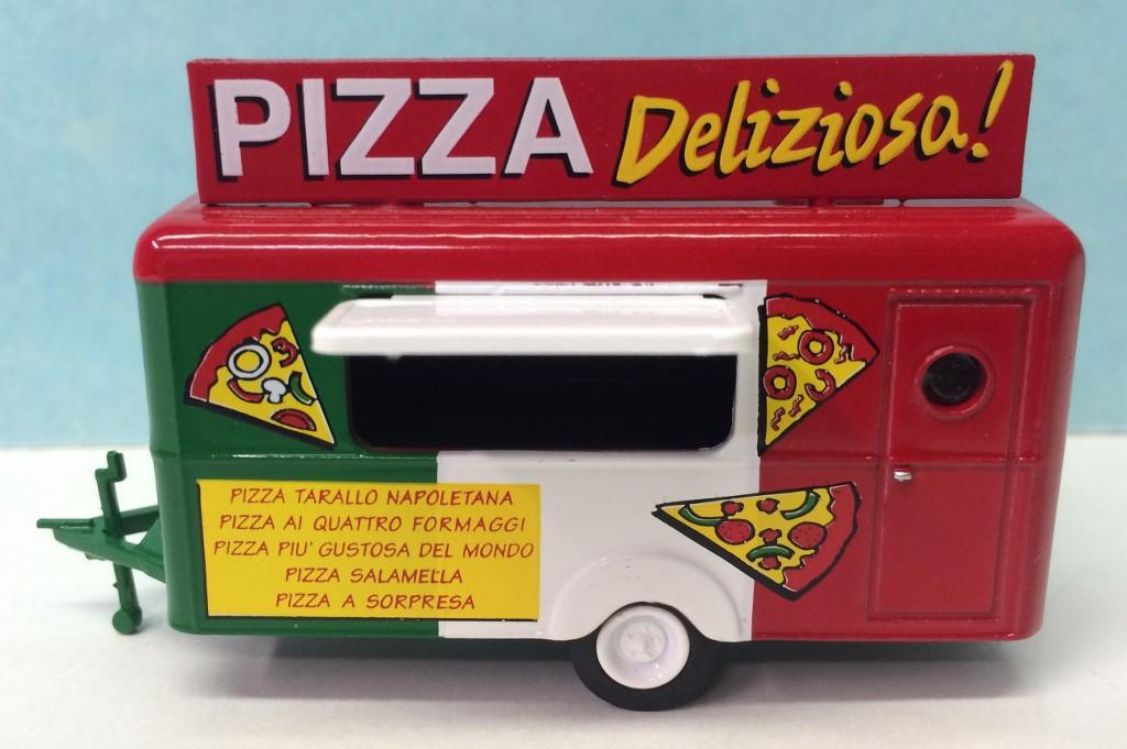 Paella vehicle HO Scale Food Trailer