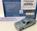 Oxford Diecast #87CH63001 Chevy '63 Corvair Coupe - Silver Blue (HO)