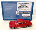 Oxford Diecast #87CH63002 Chevy '63 Corvair Coupe - Riverside Red (HO)