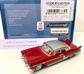 Oxford Diecast #87CE57002 Cadillac '57 Eldorado Brougham - Red/Stainless Steel (HO)