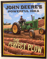 John Deere's Powerful Idea - The Perfect Plow Hardcover - (Children)