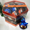 """Lionel Trains Christmas Ornaments - (14) 3"""" Plastic Balls in Matching Box"""