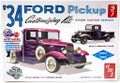 AMT #1120 - '34 Ford Pickup 3-in-1 Customizing KIT (1:25)