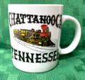 #M121 Chattanooga TN Steam Train Ceramic Coffee Mug