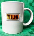 #M125 Yellow Freight Ceramic Coffee Mug