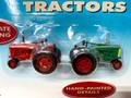Life-Like SceneMaster #1627 Farm Tractors - Red, Green (HO)