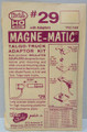 Kadee #29 - 20 Series Magne-Matic Couplers - Long Overset Shank (HO)