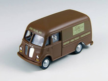 Brown Delivery Van
