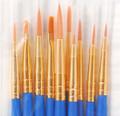 Plaid Artist Detail Brush Set (10-pk) #44278