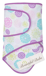 Newborn Baby Wrap.  Cotton Swaddle Blankets. Miracle Blanket - Starburst