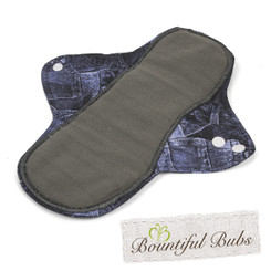 Medium Washable Pad, Denim