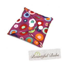 Small  Cloth Pad folded