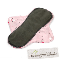 Reusable Maternity Pad - Absorbent Charcoal Bamboo - Bountiful Bubs