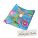 Reusable Pad Deluxe Pack, Menstrual, Incontinence Pads, Folded Summer Garden, Bountiful Bubs
