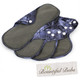 Reusable Pad Deluxe Pack, Menstrual, Incontinence Pads, Large Denim, Bountiful Bubs