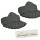 Charcoal Bamboo Boosters - 6 layers x 20 Extremely Absorbent, Bountiful Bubs
