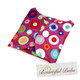 Cloth Pad, folded. Dotty-Bountiful Bubs